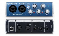 Аудіоінтерфейс Presonus AudioBox 22VSL + навушники Numark HF125 DJ в подарунок