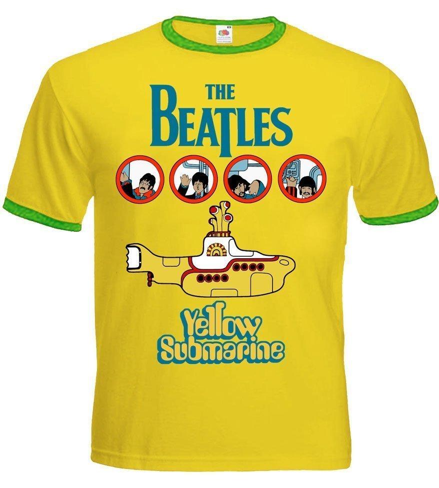 Футболка-рингер The Beatles