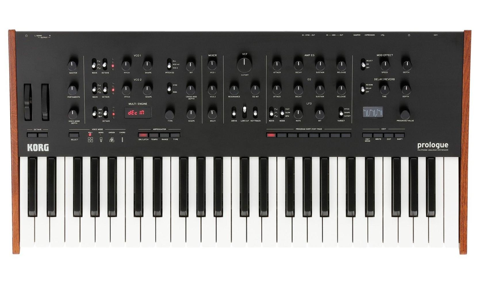 Синтезатор аналоговый Korg Prologue-8 (100021557000) - купить в ... 39429adbd77b2