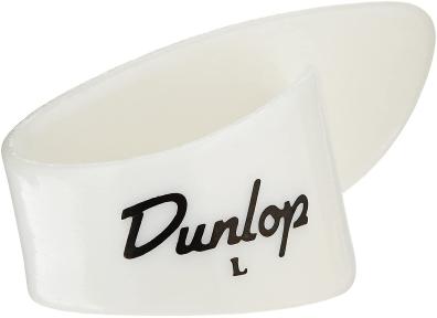 Медіатори-кігті Dunlop Thumbpicks Shell White Plastic Large 9013R (12шт)