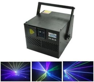 Лазер анімаційний LanLing L-2W Transformer 2W RGB 25KPPS ILDA SD