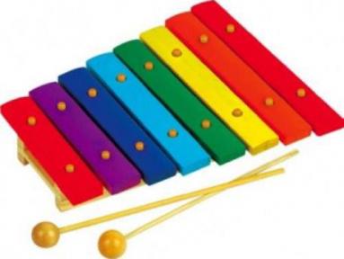 Дитячі металофони і ксилофони