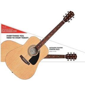 Набір для початківців гітаристів Fender FA-115 Dreadnought Pack Natural (971110421)