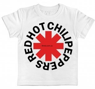 Детская футболка Red Hot Chili Peppers (logo)