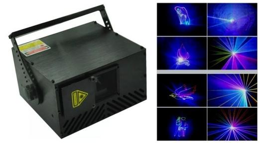 Лазер анімаційний LanLing L-1W Transformer 1W RGB 15KPPS ILDA SD