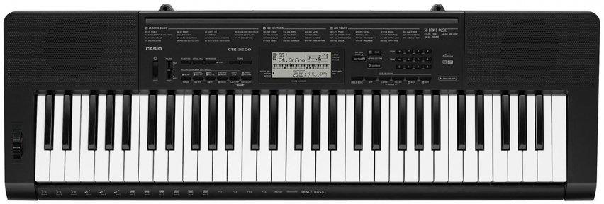 Синтезатор Casio CTK-3500 + блок живлення