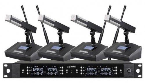 Бездротова конференційна мікрофонна система Emiter-S TA-U802