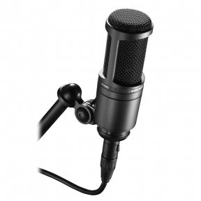 Студійний мікрофон Audio Technica AT2020, конденсаторний, кардіоїдний
