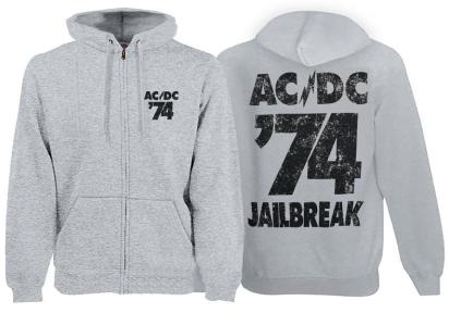AC DC - 74 Jailbreak - меланжевая - рок-толстовка - купити у Львові ... 381d578bf704f