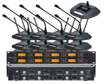 Бездротова конференційна мікрофонна система Emiter-S TA-708