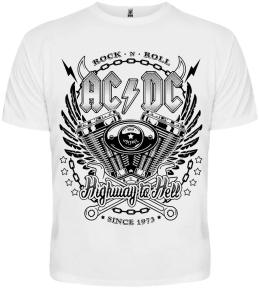 Футболка AC/DC (since 1973) white