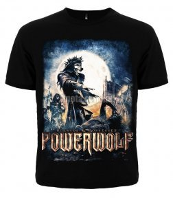 Футболка Powerwolf Blessed   Possessed - купити у Львові - продаж ... cb3ced78c7f01