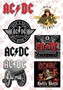 Стикерпак AC/DC (album covers)