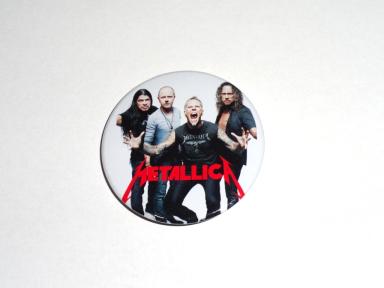 Значок Metallica 3 - купити у Львові - продаж b05961cfe7636
