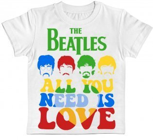 Детская футболка The Beatles - All You Need Is Love