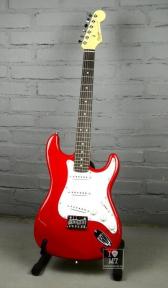 Електрогітара Squier by Fender MM Strat HT Red