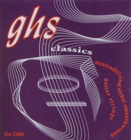 Струны для классической гитары Ghs 2500