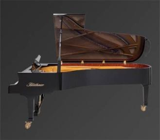 Рояль Julius Bluthner BLU 01 Black, tarnished