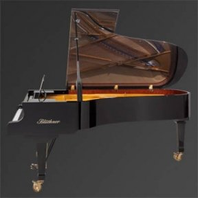 Рояль Julius Bluthner BLU 02 Black, tarnished