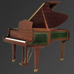Рояль Julius Bluthner BLU S2 Rosewood/leather