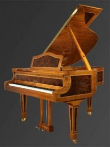Рояль Julius Bluthner BLU S6 Walnut tree/inlays