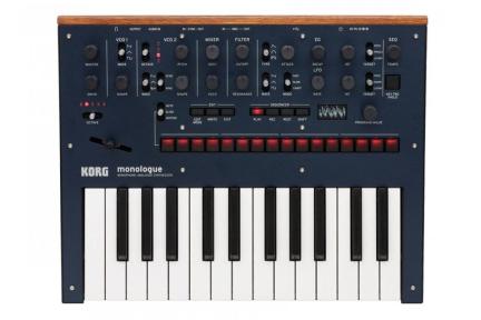 Моно-синтезатор Korg Monologue-Bl (100020373000)