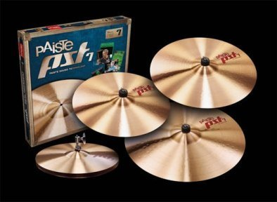 Набір тарілок Paiste 7 Rock Set + Crash 18