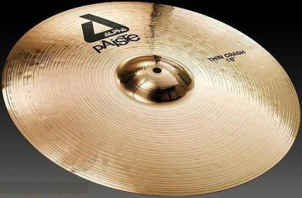 Тарелка Paiste Alpha Brilliant Thin Crash 18