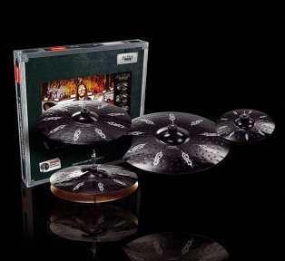 Набір тарілок Paiste Black Alpha Hyper Set
