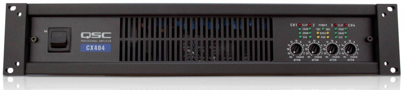Підсилювач потужності QSC CX 404