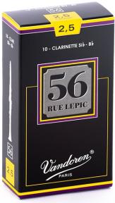 Трости для Сі-b кларнета 56 Rue Lepic Vandoren CR5025