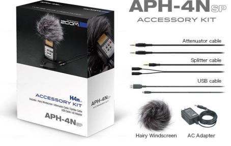 Набір аксесуарів для рекордера Zoom APH4nPRO