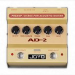 Педаль эффектов Joyo AD-2 Acoustic Guitar preamp and DI Box