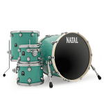 Барабанная установка Natal Drums Cafe Racer Sea Foam Green (K-TW-UF22-SFG1)