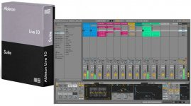 Звуковой редактор Ableton Live 10 Suite, UPG from Live 1-9 Standard
