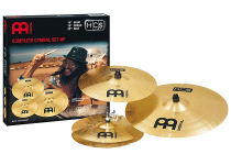 Набір тарілок Meinl HCS141620+10 HCS Complete Cymbal Set-Up (14 Hihat, 16 Crash, 20 Ride + 10 Splash)