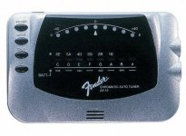 Хроматичний тюнер Fender AX-12 Auto/Chromatic Tuner SL (023-9989-124)