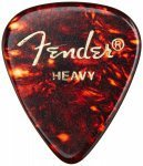 Набор медиаторов Fender 351 Classic Celluloid 144 Shell Heavy (098-0351-500)