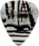 Медіатор Fender 351 Shape Premium Picks Zebra Medium (1980351212)