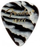 Медіатор Fender 351 Shape Premium Picks Zebra Heavy (1980351213)