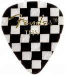 Медіатор Fender 351 Shape Premium Picks Thin Checker (1980351311)