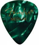 Медіатор Fender 351 Green Pick Gross Medium (1982351371)