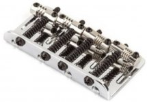 Бридж для бас-гітар Fender American Deluxe 4-String Bass Bridge Assembly Chrome (58396000)