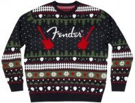 Светер різдвяний Fender Ugly Christmas Sweater 2019, L (9191219506)