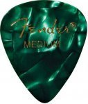 Медіатор Fender 351 Shape Premium Picks Green Moto Medium (982351371)