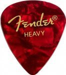 Медіатор Fender 351 Shape Premium Picks Red Moto Heavy (982351509)