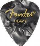 Медіатор Fender 351 Shape Premium Picks Black Moto Heavy (982351543)