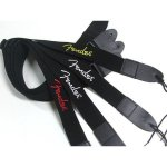 Ремінь для гітари Fender Strap 2 Black Yellow Logo (990662070)