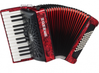 Аккордеон Hohner Bravo II 48 (red)
