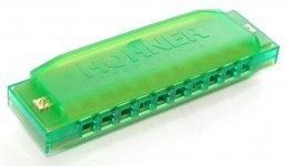 Губная гармошка Hohner М5153 Happy GREEN C
